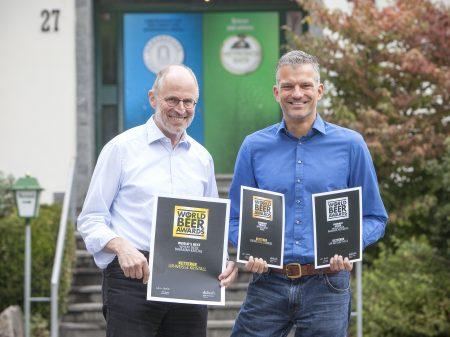 Drei World-Beer-Awards für unsere Weizenbiere!