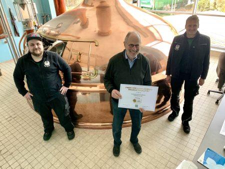 Nur elf Brauereien sind so ausgezeichnet!